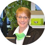 Tanja Pedersen-Serviceassistentin